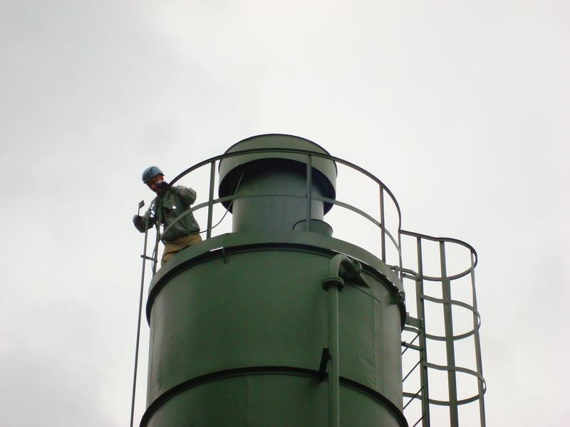Alpinizm przemysłowy - prace antykorozyjne