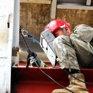 Spawanie na wysokości alpiniści